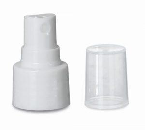 20-410 Fine Mist Sprayer, Smooth White - MADE IN USA Image